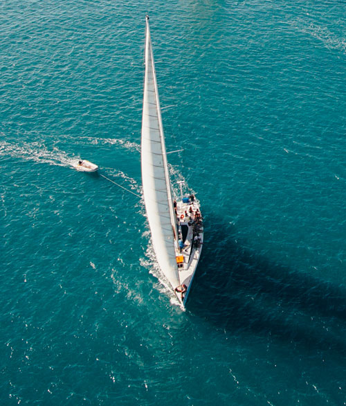 Broomstick Whitsundays Tour Sailing To Whitehaven Beach