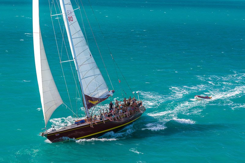 Condor Whitsundays Adventure Sailing Tour To Whitehaven Beach
